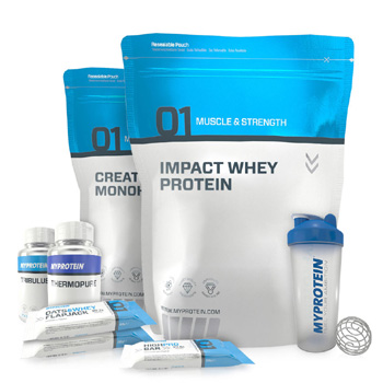 showcase of myprotein products