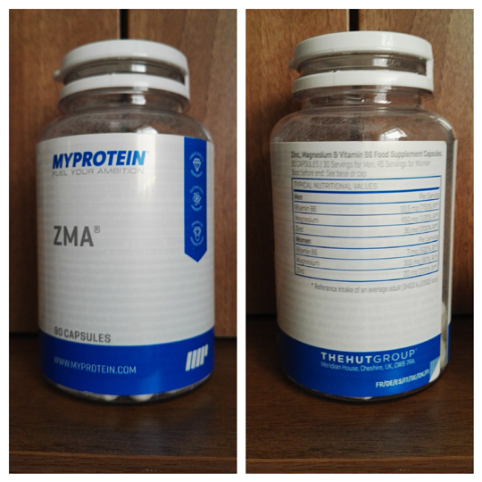 Complete Review Of The Myprotein ZMA ® | CheckMeowt